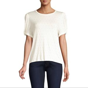 Generation Love Crystal Embellished Top Small. New